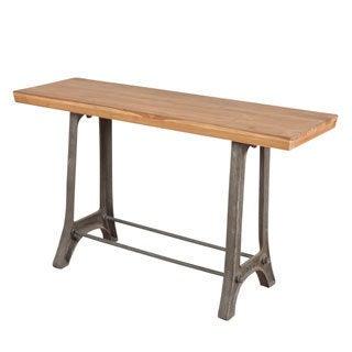 Reclaimed Teak Console Table (India)