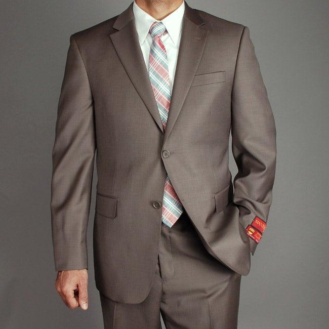 Men's Wool 2-button Suit