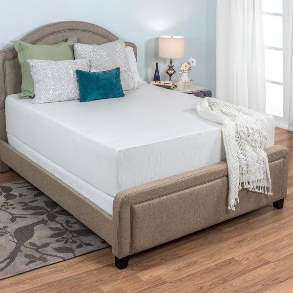 Select Luxury Medium Firm 14-inch Cal King-size Memory Foam Mattress