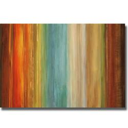 Max Hansen 'Wavelength I' Canvas Art