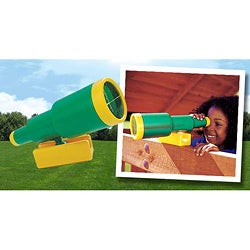 KidWise Green/ Yellow Telescope