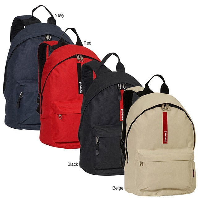 Everest 16-inch Two-tone Polyester Lightweight Classic Backpack