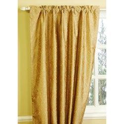 """Fosetta Dupioni Silk Paisley Curtain - 84"""""""