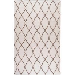 Hand-woven Rutledge Wool Rug (5' x 8')