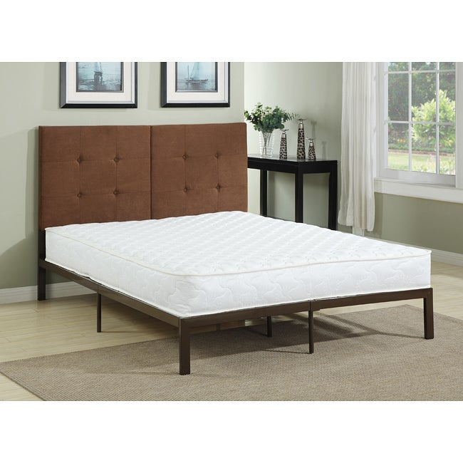 Ultra resort foam top innerspring 10 inch twin size mattress overstock shopping great deals Best deal on twin mattress