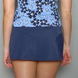 Jantzen Women's Blue Skirted Swim Bottoms (Size 16)