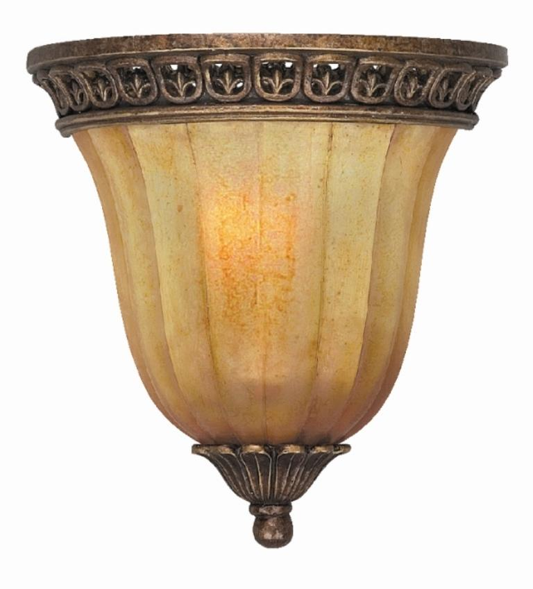 Wall Sconces Overstock : Espresso Finish Amber Glass Shade 1-light Wall Sconce - Overstock Shopping - Top Rated Sconces ...
