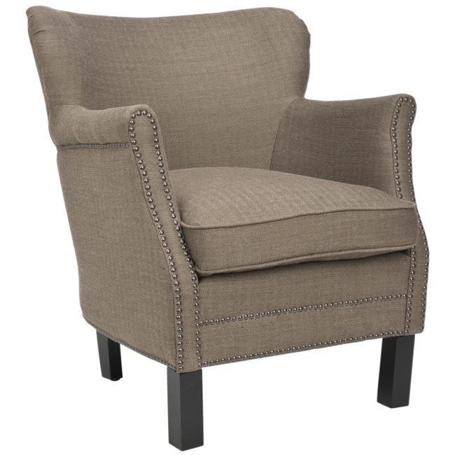 Safavieh Noble Brown Club Chair