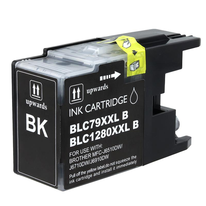INSTEN Brother LC79BK Compatible Extra High-yield Black Ink Cartridge