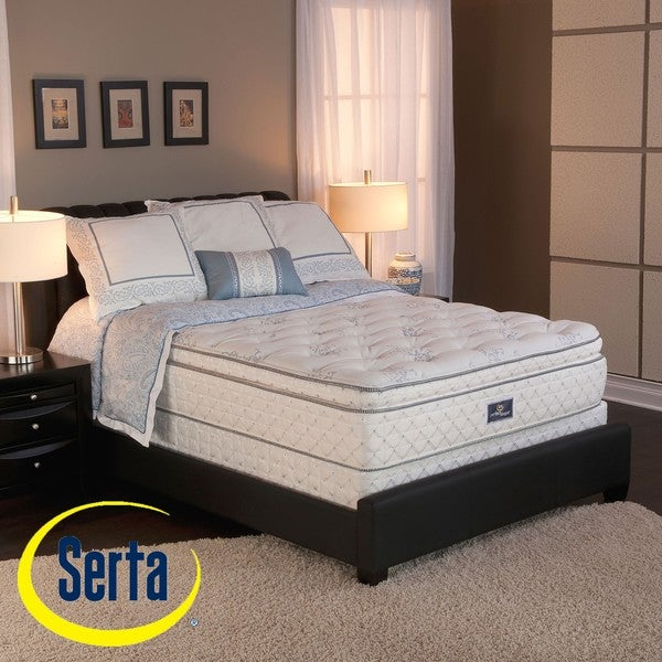 Serta Perfect Sleeper Conviction Super Pillowtop King-size Mattress and Box Spring Set