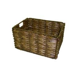 Medium Two-tone Walnut Storage Baskets (Set of 6)