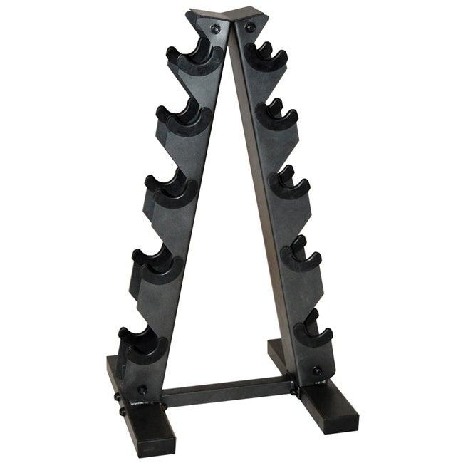 CAP Barbell Black 'A' Frame Dumbbell Rack