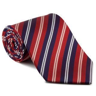 Platinum Ties Men's 'Pilot' Striped Tie