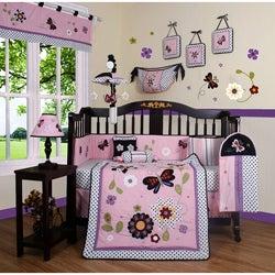 Daisy Garden 13-piece Crib Bedding Set