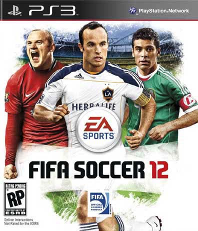 PS3 - FIFA Soccer 12 - By Electronic Arts