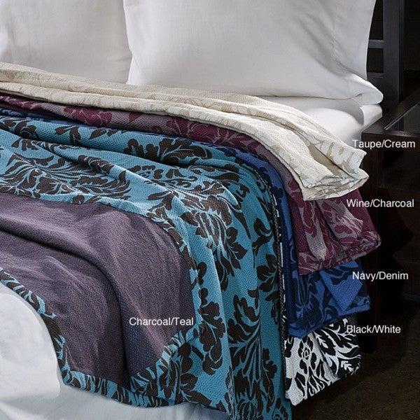 Havana Reversible Cotton Full/ Queen-size Blanket
