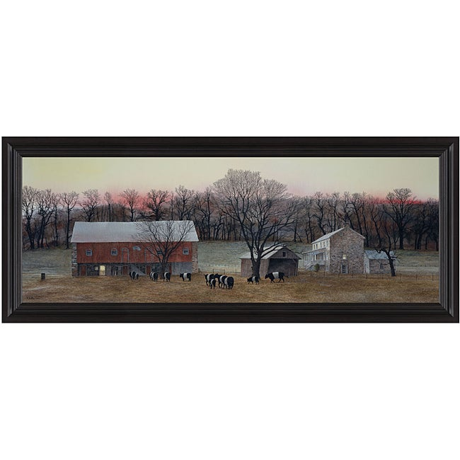 Peter Sculthorpe 'In from the Fields' Framed Print Art
