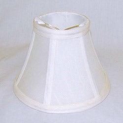 Round Silk Off-white Lamp Shade