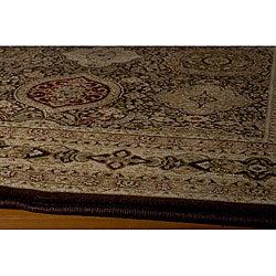 "Westminster Tabriz Brown Panel Power-Loomed Rug (11'3"" x 15')"