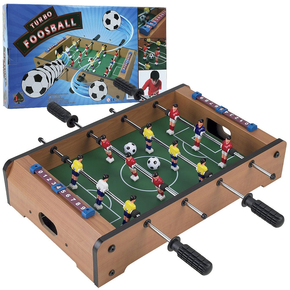 Trademark Games Mini Table-top Foosball Table