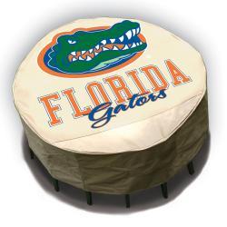 NCAA Florida Gators Round Patio Set Table Cover