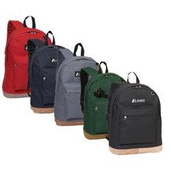 Everest 17-inch Vintage Suede Bottom Lightweight Two-toned Backpack