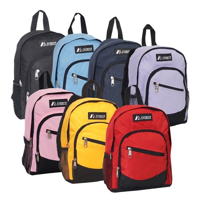 Everest 13-inch Junior Slant Zipper Backpack