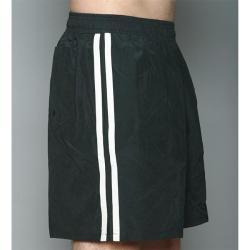 Speedo Men's Black Twin Stripe Swimsuit