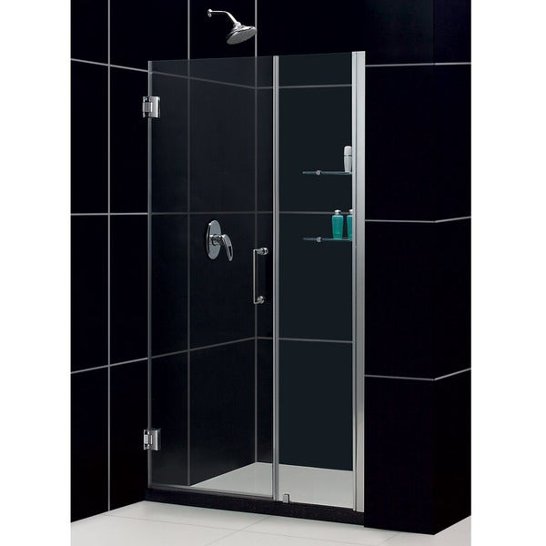 DreamLine Unidoor 45-49x72-inch Frameless Hinged Shower Door