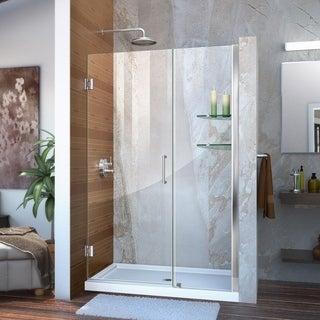 DreamLine Unidoor 45-49x72-inch Frameless Hinged Shower Door
