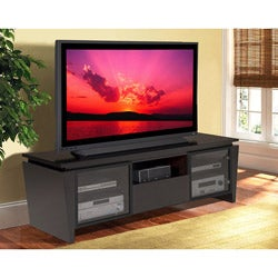 Contemporary Wenge 75-inch Entertainment Center