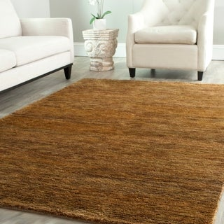 Safavieh Hand-knotted Vegetable Dye Solo Carmel Hemp Rug (5' x 8')