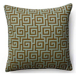 Grey 20x20-inch Puzzle Outdoor Decorative Pillow
