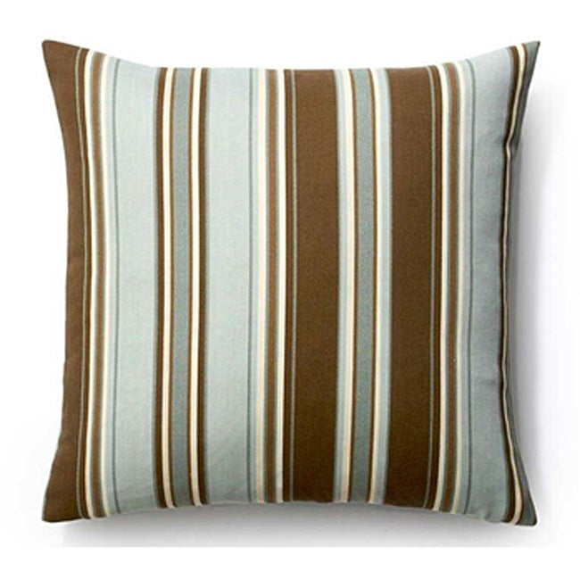Spa Thin Stripes Outdoor 20x20-inch Pillow
