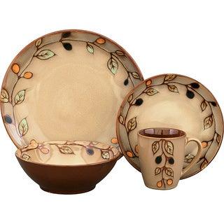 Sango Vineyard 16-piece Dinnerware Set