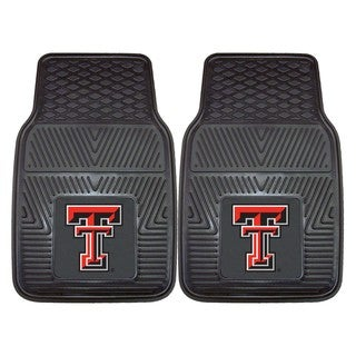 Fanmats Texas Tech 2-piece Vinyl Car Mats