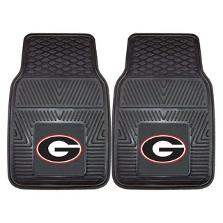 Fanmats Georgia 2-piece Vinyl Car Mats