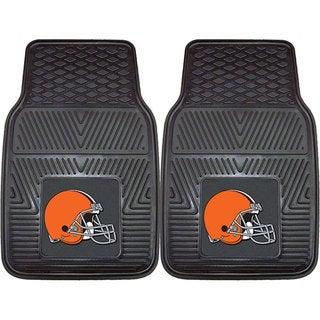 Fanmats Cleveland Browns 2-piece Vinyl Car Mats