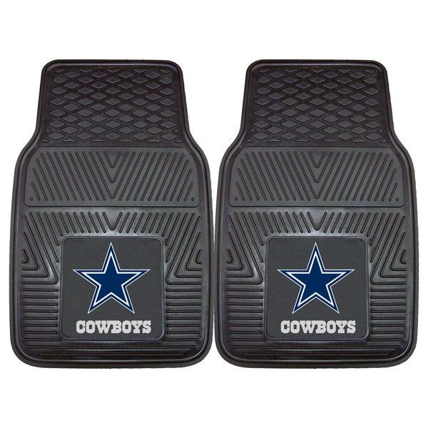 Fanmats Dallas Cowboys 2-piece Vinyl Car Mats