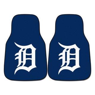 Fanmats Detroit Tigers 2-piece Carpeted Car Mats
