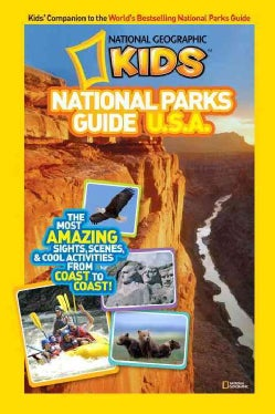 National Geographic Kids National Parks Guide U.S.A. (Paperback)