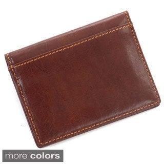 Tony Perotti Italian Leather Ultimo ID Window Weekend Travel Wallet