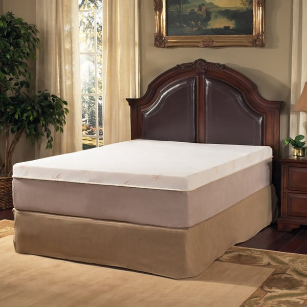 Grande Hotel Collection Posture Support 11-inch King-size Trizone Memory Foam Mattress