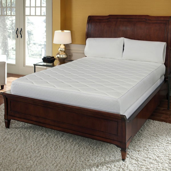 Cheap Twin XL Restonic Comfort Care Allura Pillow Top Mattress Set