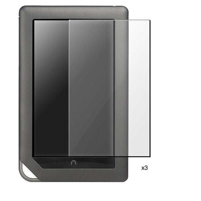Screen Protector for Barnes & Noble Nook Color (Pack of 3)