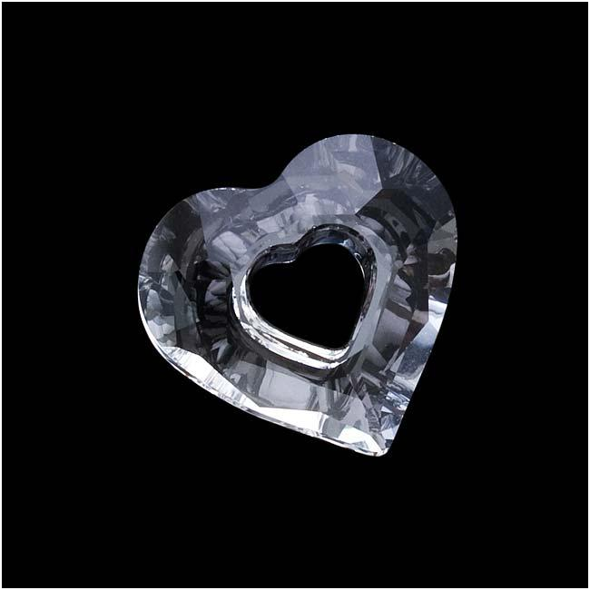 Beadaholique Crystal 17mm Miss U Heart Pendant
