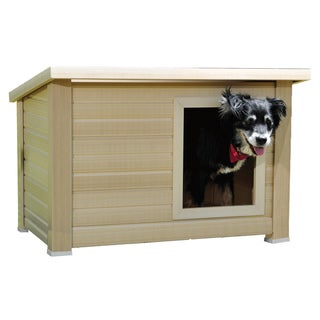 Pinta International Medium Rustic Lodge Eco Concept Dog House