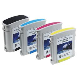 INSTEN 4-piece HP 940XL Black/ Cyan/ Magenta/ Yellow Ink Cartridge (Remanufactured)