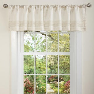 Lush Decor Ivory Paloma Valance