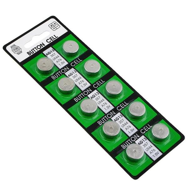 INSTEN AG13 Long-life Alkaline Coin Cell Button Battery (Pack of 20)